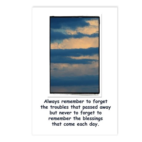 Remember your Blessing Postcards (Package of 8)