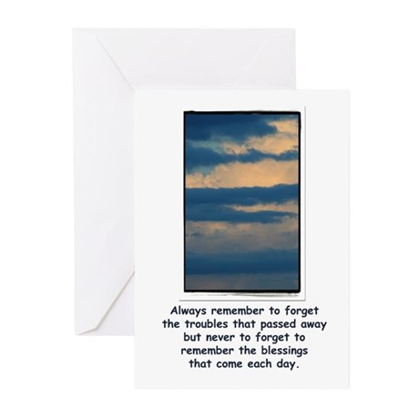 Remember your Blessing Greeting Cards (Package of