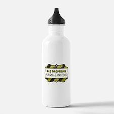 BAT DROPPINGS Water Bottle