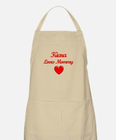 Kiara Loves Mommy BBQ Apron