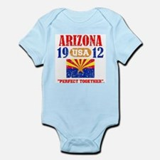 "ARIZONA / USA 1912 STATEHOOD ""PERFECT T Body Suit"