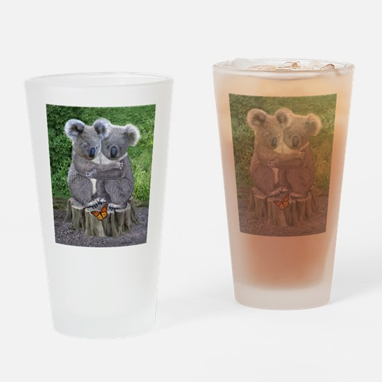 BABY KOALA HUGGIES Drinking Glass