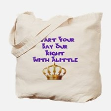 Alittle Crown Tote Bag