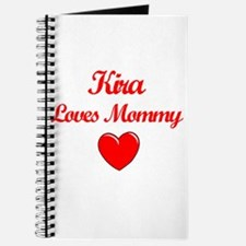 Kira Loves Mommy Journal