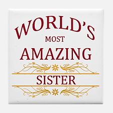 Sister Tile Coaster