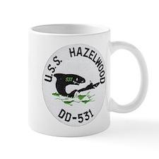 USS HAZELWOOD Small Mug