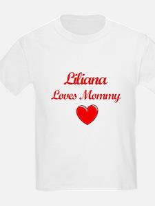Liliana Loves Mommy T-Shirt
