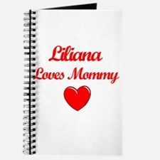 Liliana Loves Mommy Journal
