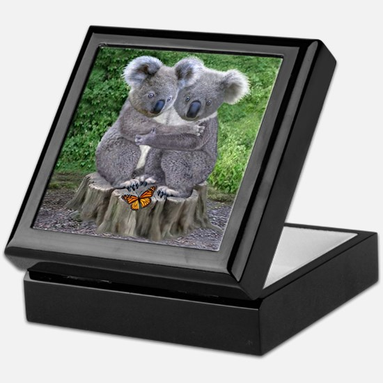 BABY KOALA HUGGIES Keepsake Box
