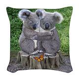 Koala Woven Pillows