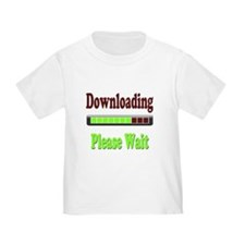 Downloading Design 1 T-Shirt