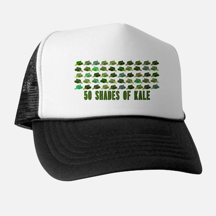 50 Shades Of Kale Trucker Hat