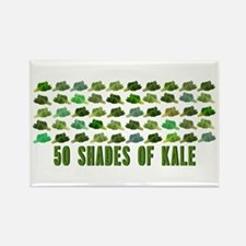 50 Shades Of Kale Magnets
