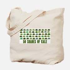 50 Shades Of Kale Tote Bag