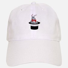 MAgic Bunny in a Top Hat Baseball Baseball Cap