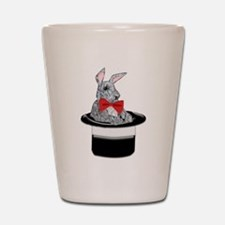 MAgic Bunny in a Top Hat Shot Glass