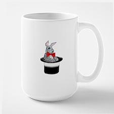 MAgic Bunny in a Top Hat Mugs