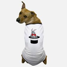 MAgic Bunny in a Top Hat Dog T-Shirt