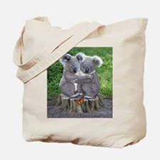 BABY KOALA HUGGIES Tote Bag
