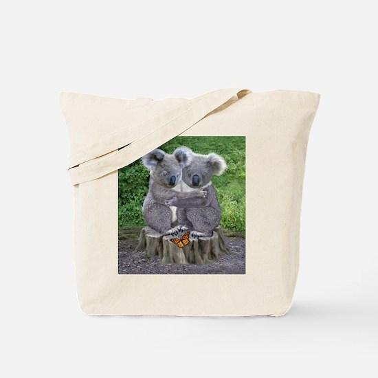 BABY KOALA HUGGIES Tote Bag