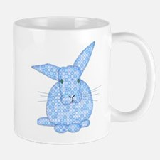 Blue Calico Baby Bunny Mugs