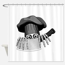 Chef Humor Shower Curtain