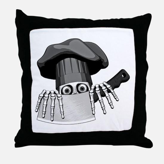 Chef Humor Throw Pillow