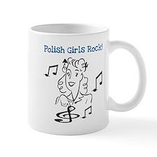 Polish Girls Rock Small Mug