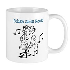 Polish Girls Rock Small Mug