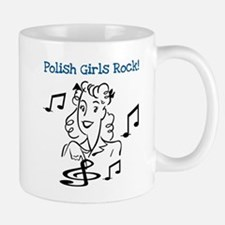 Polish Girls Rock Small Small Mug