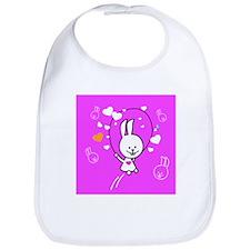 Cute Bunny Jumping Rope Bib