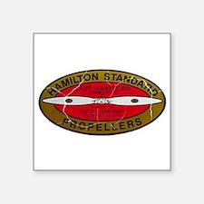 Retro Hamilton Standard Propellers Logo Sticker