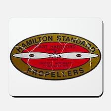 Retro Hamilton Standard Propellers Logo Mousepad