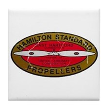 Retro Hamilton Standard Propellers Logo Tile Coast