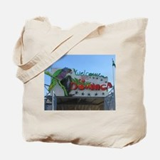 Dominica Welcome Tote Bag
