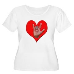 ILY Heart T-Shirt