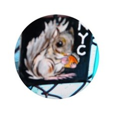 "CHIPMUNKS 3.5"" Button"