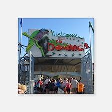 Dominica Welcome Sticker