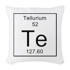 52. Tellurium Woven Throw Pillow