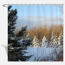 Nature Scenery Shower Curtain