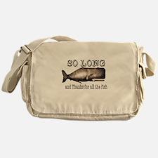 Unique Douglas adams Messenger Bag