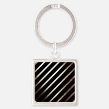 Vintage Rustic Style Stripes Keychains