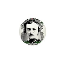 Edgar Allan Poe Mini Button (10 pack)
