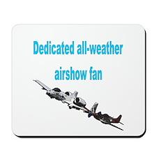 Airshow Fan Mousepad