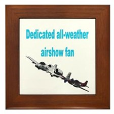 Airshow Fan Framed Tile
