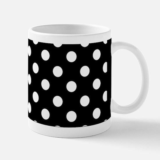 bw-polkadot Mugs