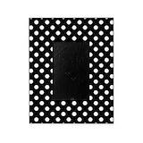 Polka dot Picture Frames