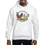 Belgian d'Uccle Bantams Hooded Sweatshirt