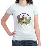 Belgian d'Uccle Bantams Jr. Ringer T-Shirt