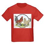 Belgian d'Uccle Bantams Kids Dark T-Shirt